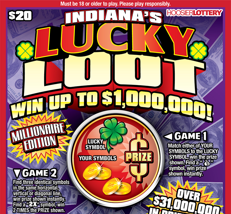 INDIANA'S LUCKY LOOT