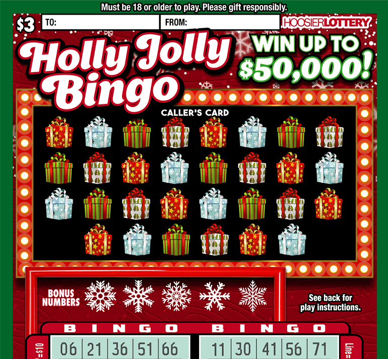 HOLLY JOLLY BINGO