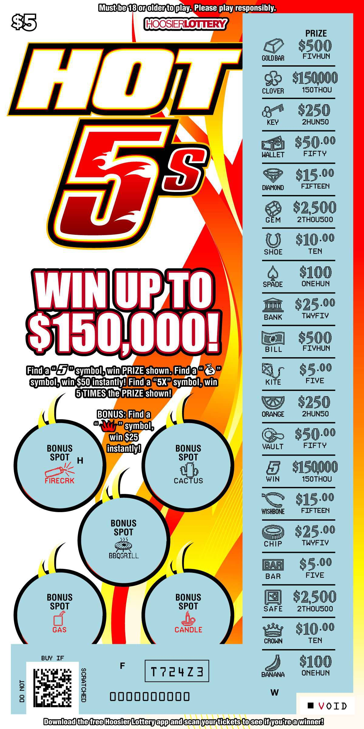 2021 Ohio Christmas Match 3 Scratch Off Scratch Offs Hoosier Lottery Hoosier Lottery