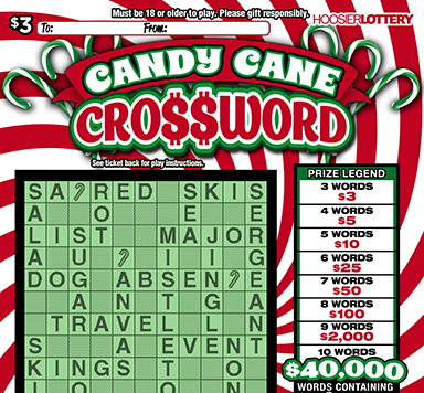 CANDY CANE CROSSWORD