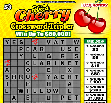 WILD CHERRY CROSSWORD TRI