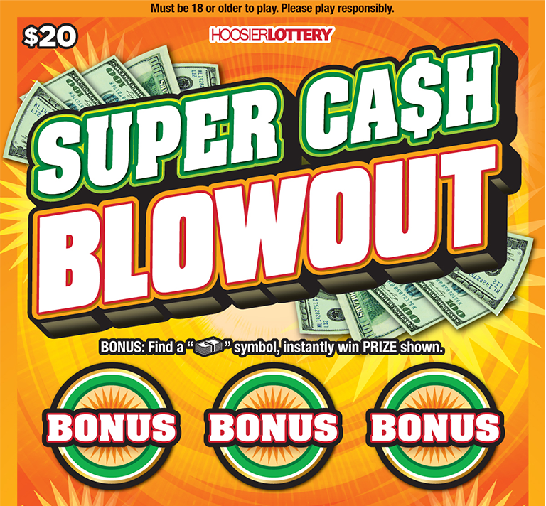 SUPER CASH BLOWOUT