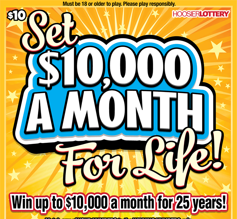 SET FOR LIFE: 10,000/MTH/