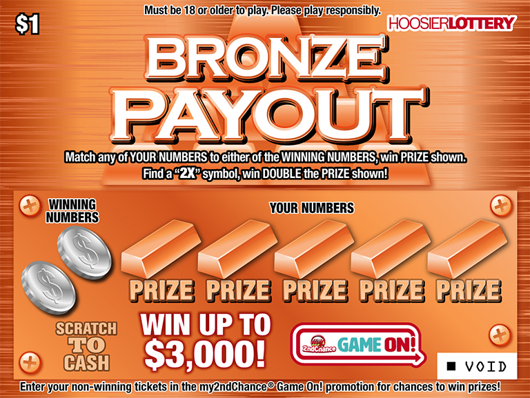 BRONZE PAYOUT