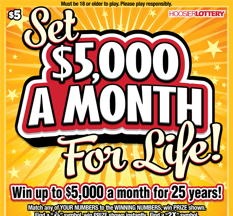 Set for Life $5,000 a Month for 25 Years